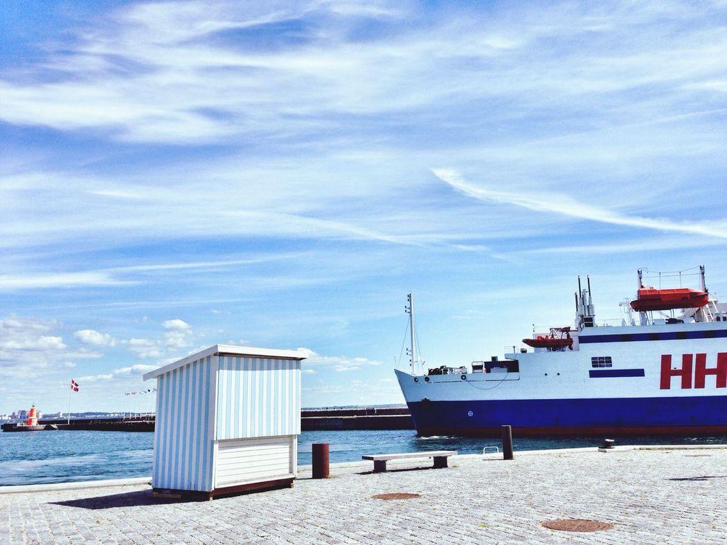 Summer Blue Port