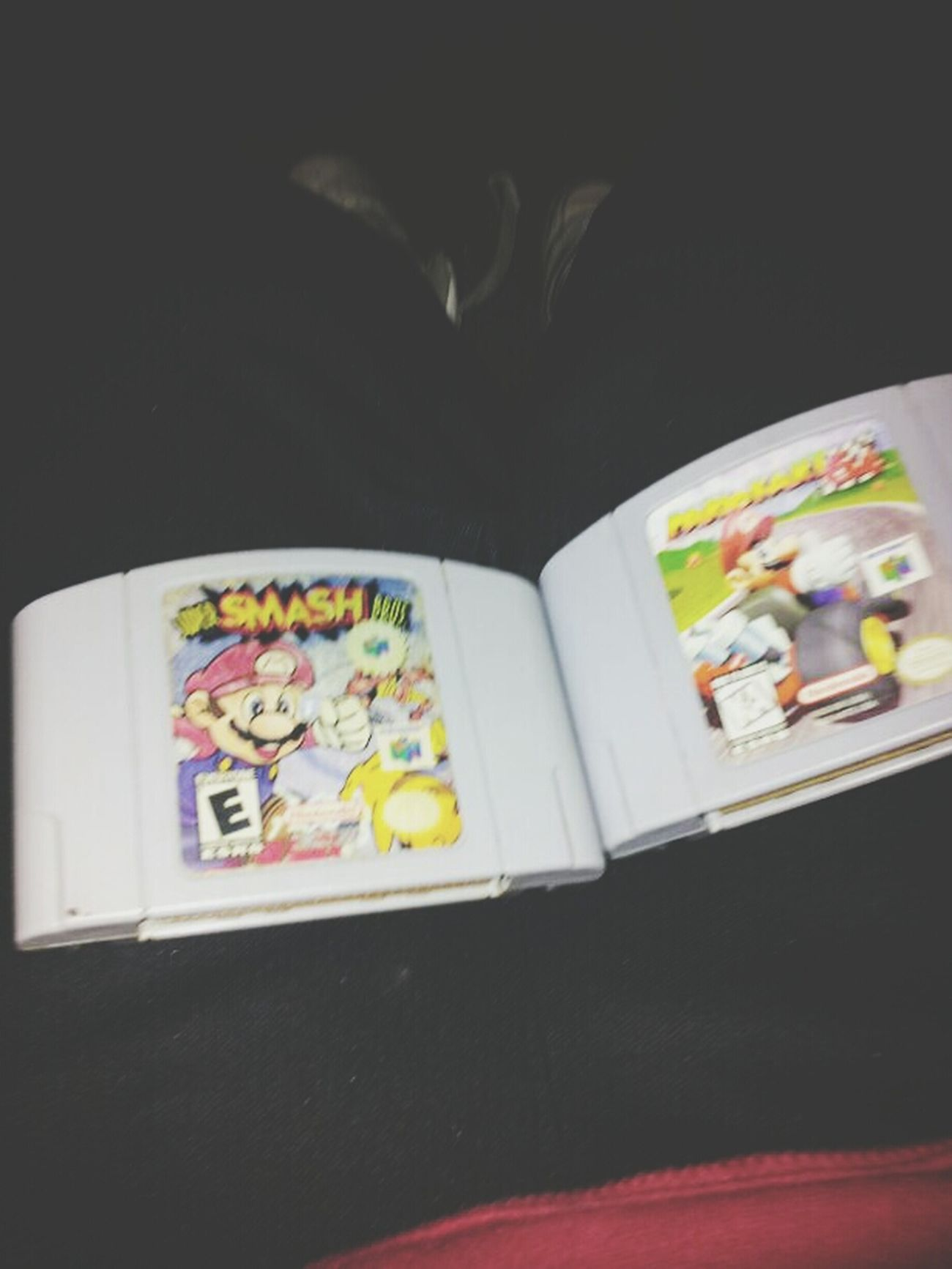 got the memories in my hands. SuperSmashBros MarioKar64