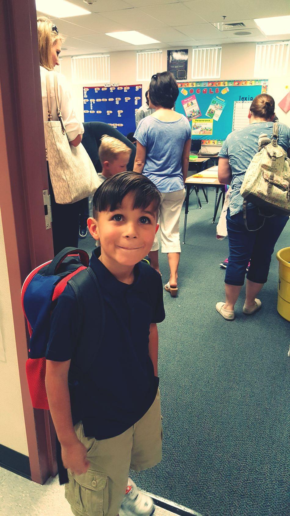 Starting 1st grade. Thats My Boy