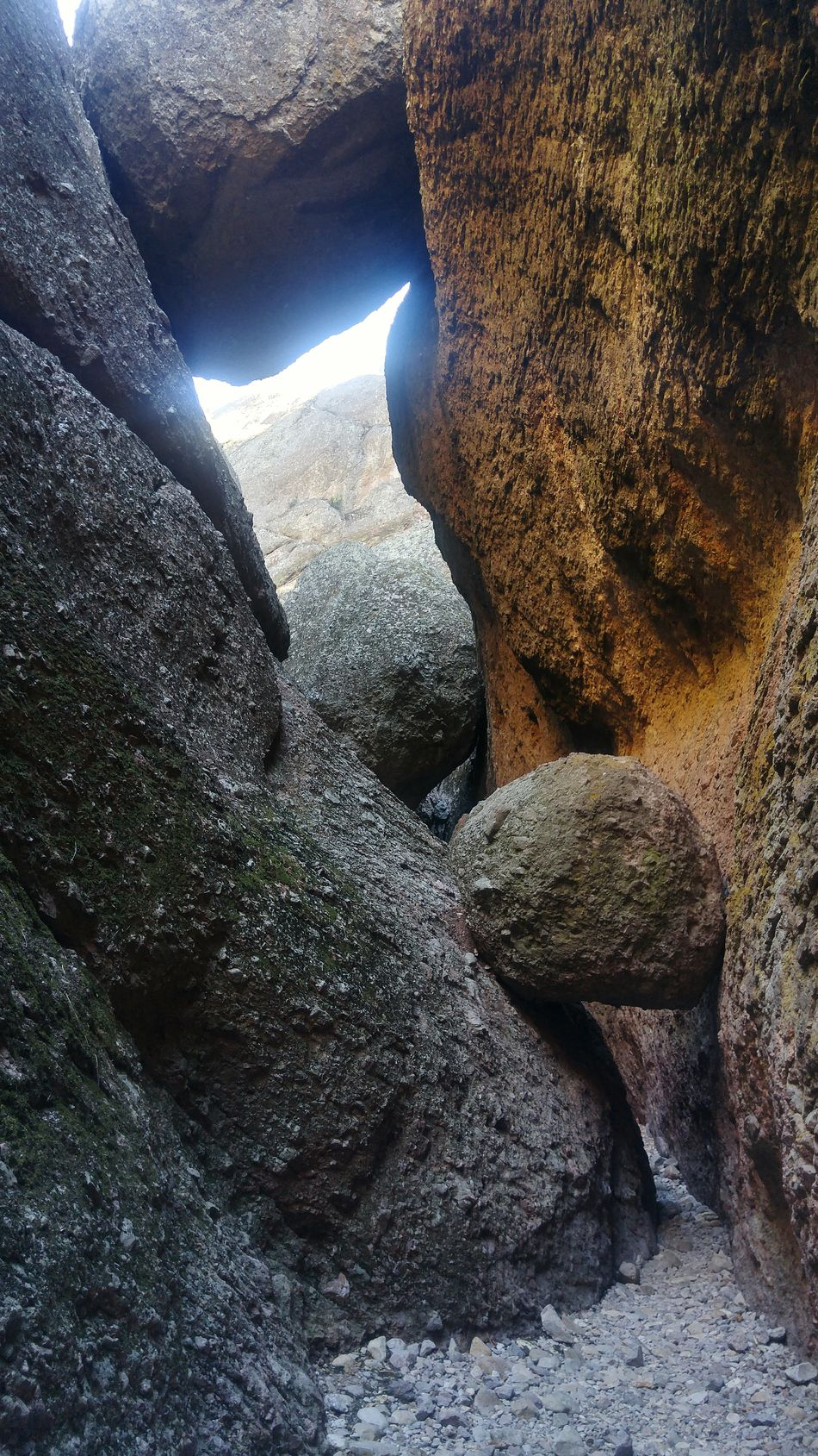 Shadow Sunlight Real People Close-up One Person Indoors  Men Day One Man Only People Rock - Object Rock Fallen Rocks Pinnacles National Park Trail Shadows & Lights Nature_collection Low Angle View California Amazing Nature No People, Boulder Check This Out! Rural Scene Shadows