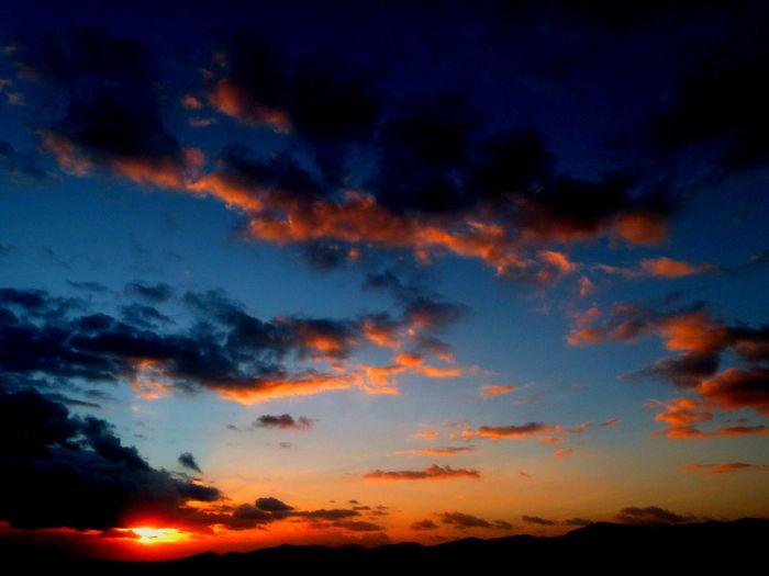 Blue Sunset Scenics Nature No People Sky Beauty In Nature Dramatic Sky Cloud - Sky Night Tranquility Outdoors Illuminated Power In Nature Beautifulday ☀️ Tranquility Clear Sky Sea Eivissa Eivissa 🍒❤ Daltvila