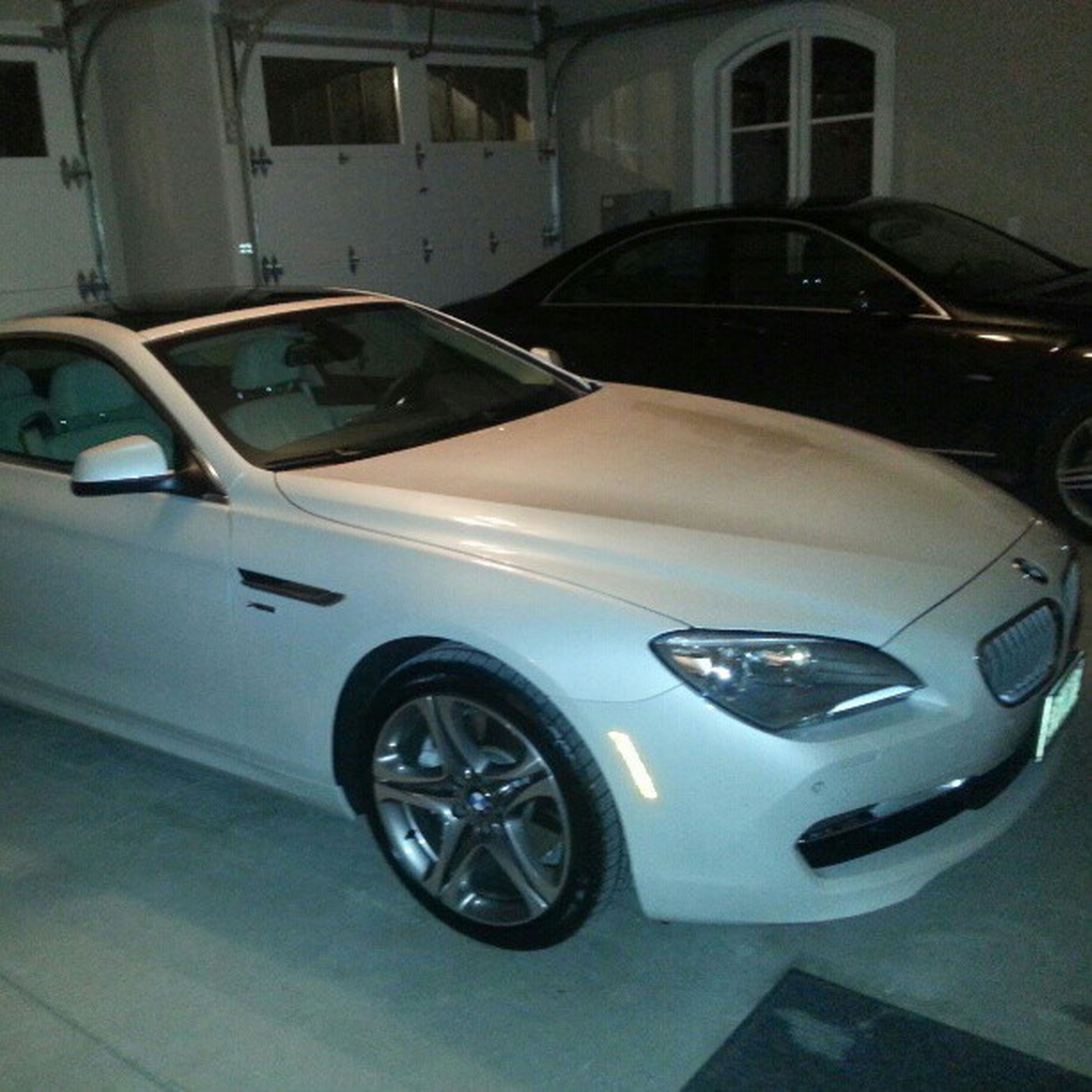Mommies new car is just disgusting Bmw 650xi Twinturbo White