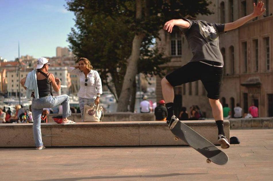 Skateboarding Marseille