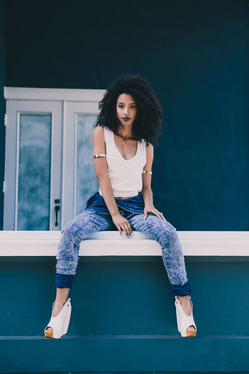 Christina Santini Street Fashion Urban Fashion Curly Hair Natrual Hair Fashion Model Gorgeous Aesthetics