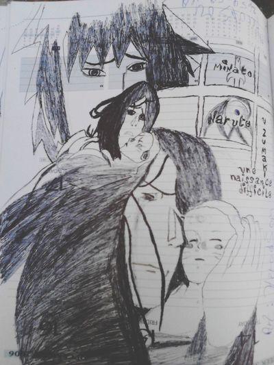 Birth of naruto Art