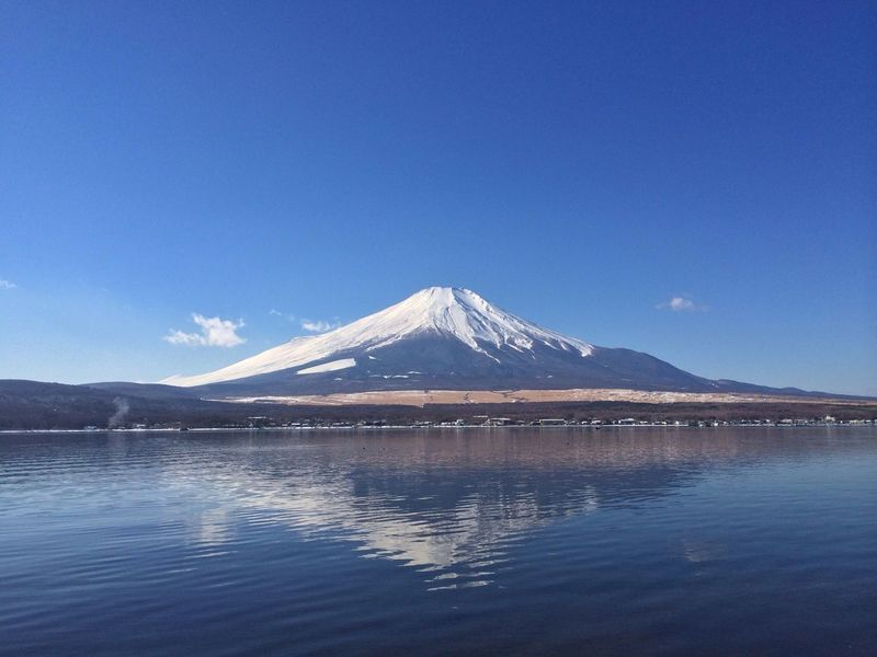富士山 山中湖 World Heritage 山梨
