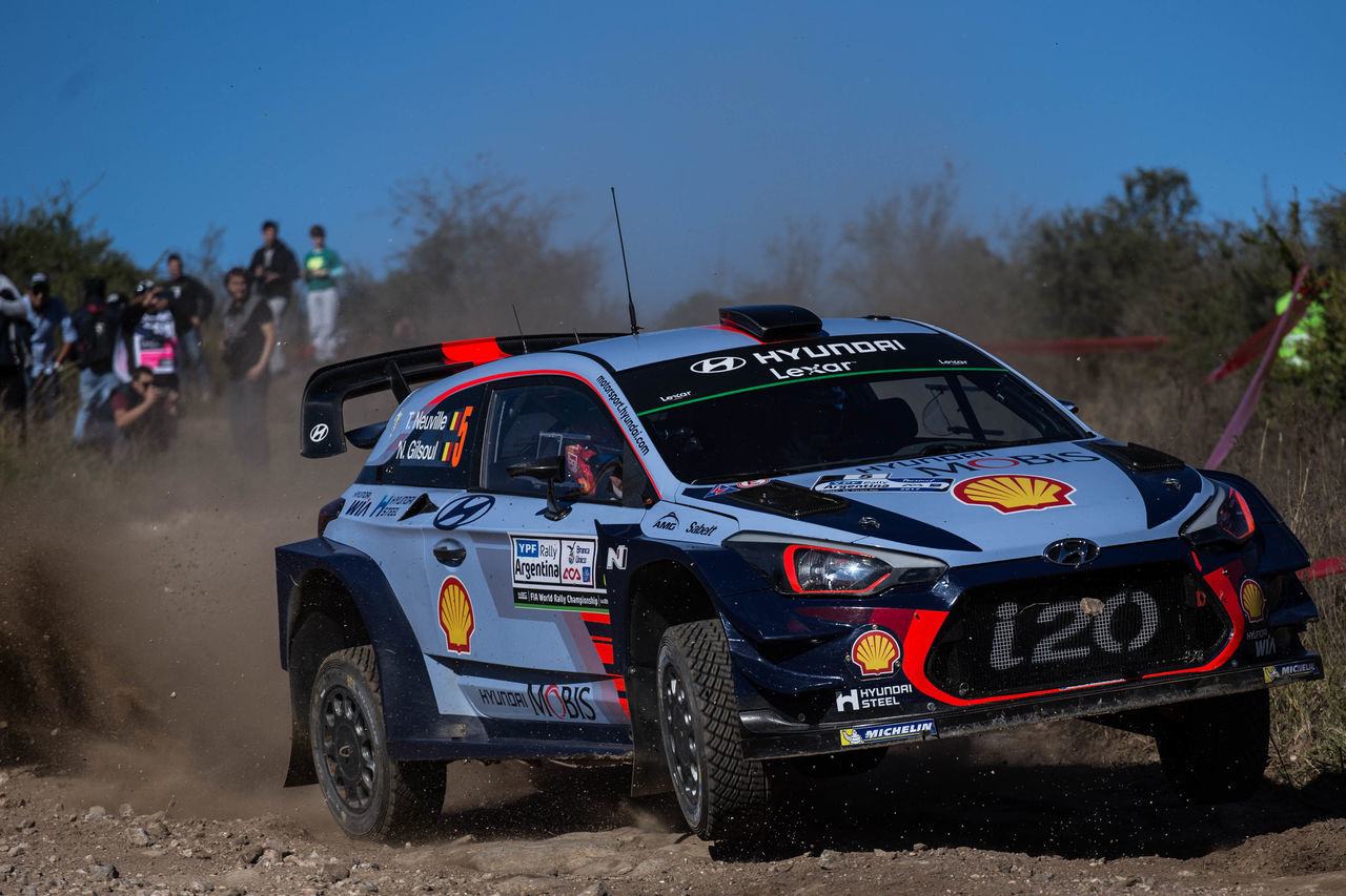 Day Hyundai I20 Land Vehicle Rally Shell Sky Thierry Neuville Transportation World Rally Car Wrc WRC Argentina