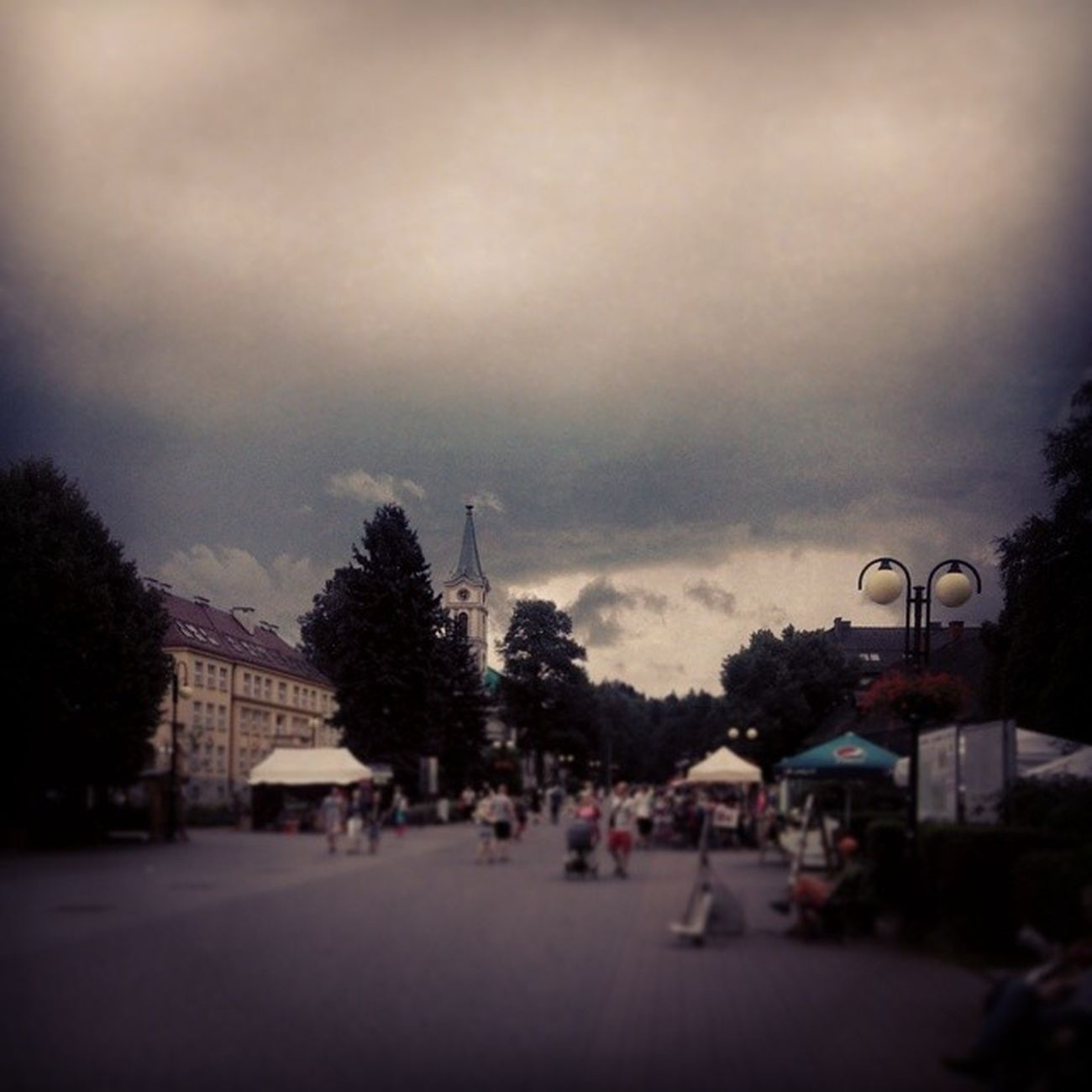 Next Thunderstorm ... Wisla Poland Zoomlabontour zot clouds cloudporn