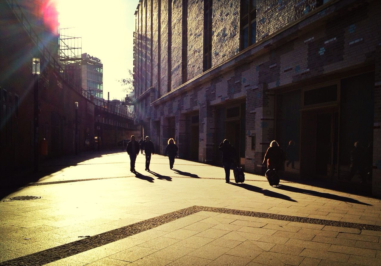 Boost Filter to bring out Sunlight on this Unicolor Streetphoto taken just a couple of weeks back.