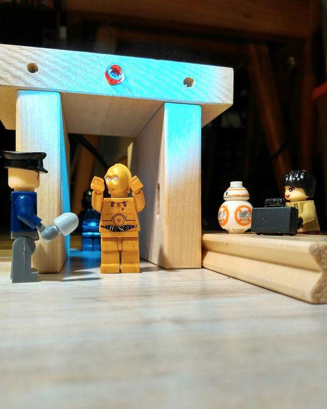 """Please step aside, sir."" C3po Droid Star Wars Metal Detector Airport Security Parody Redmi2 Lego Minifigures Figurine  First Eyeem Photo Minifigures"