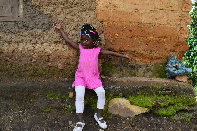 Africa African Child Childhood Girls Togo