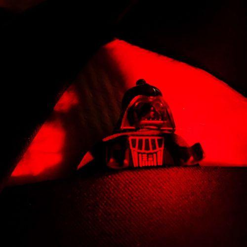 Join me. Red Illuminated Halloween Close-up Indoors  Darth Vader Darth Vadar Toy LEGO