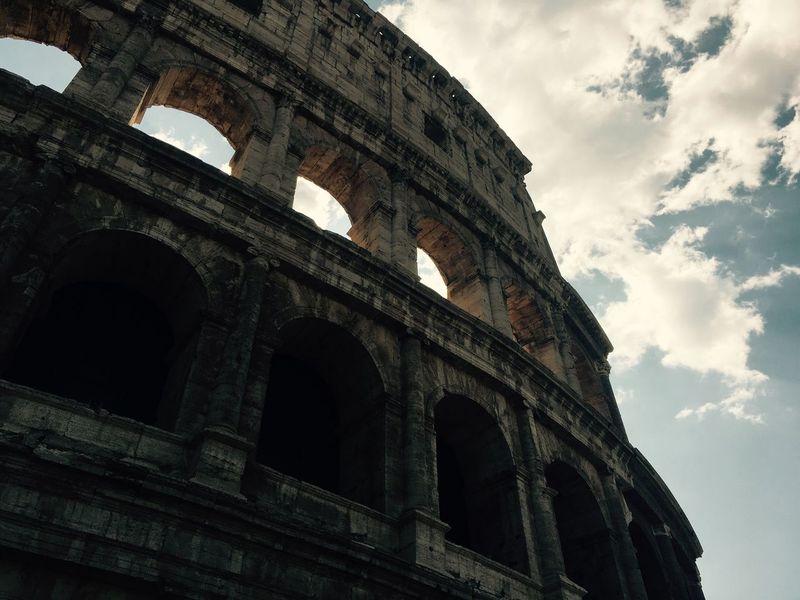 Italia Rom Kolosseum