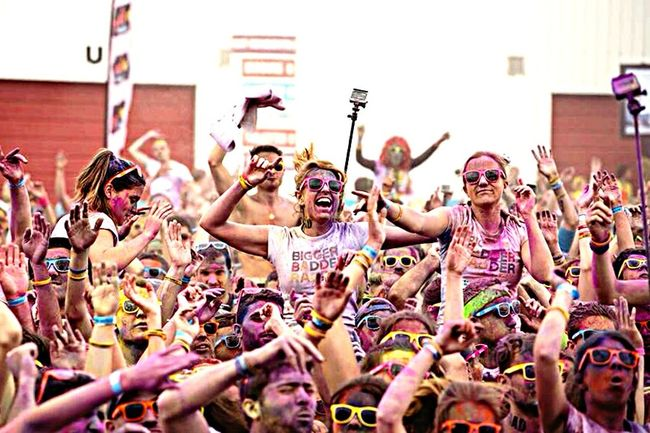 Color me rad 2015 Rennes👌 First Eyeem Photo