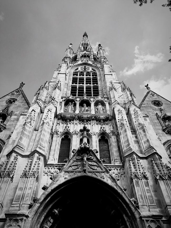 Church Black & White Black And White Religion Architecture