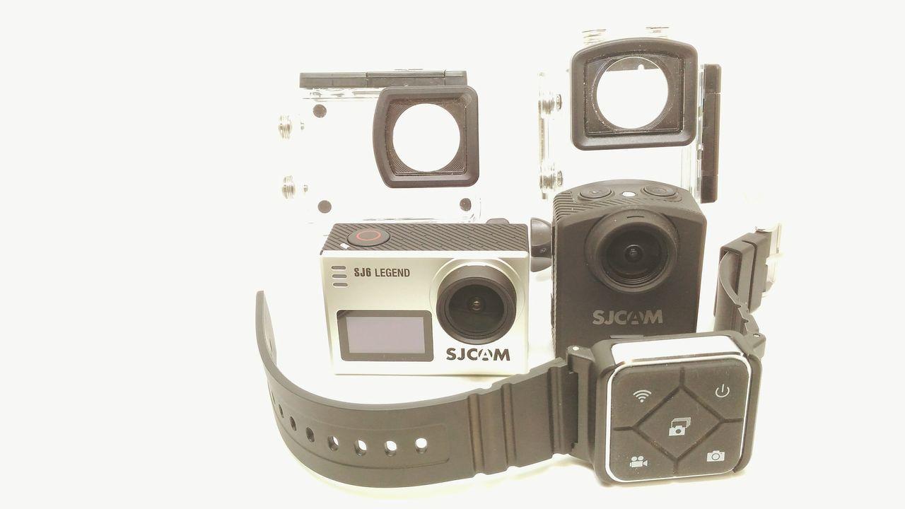 Action Cam Sjcam M20 Sjcam Sj6 Legend 2k 4K My Action Cams SJCAM Sjcam6legend White Background Photography Themes Studio Shot Close-up No People