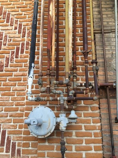 Gas Meter Funny Pics Complicated Piping The Purist (no Edit, No Filter)