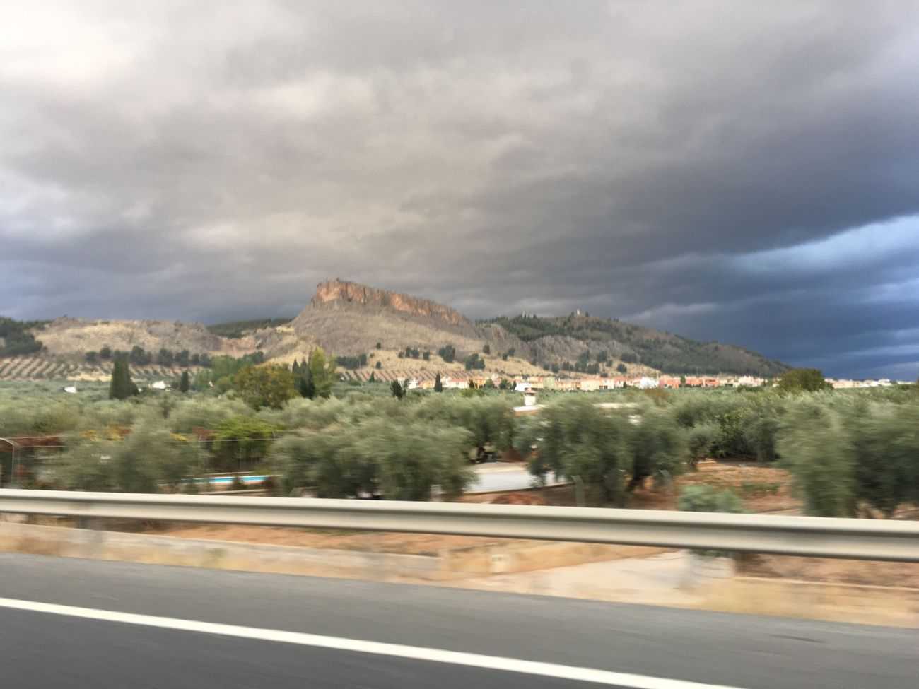 Borrasca en Granada