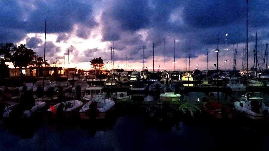 Sweden Swedenwestcoast Swedishsummer Summer Harbour Bastad Sunset