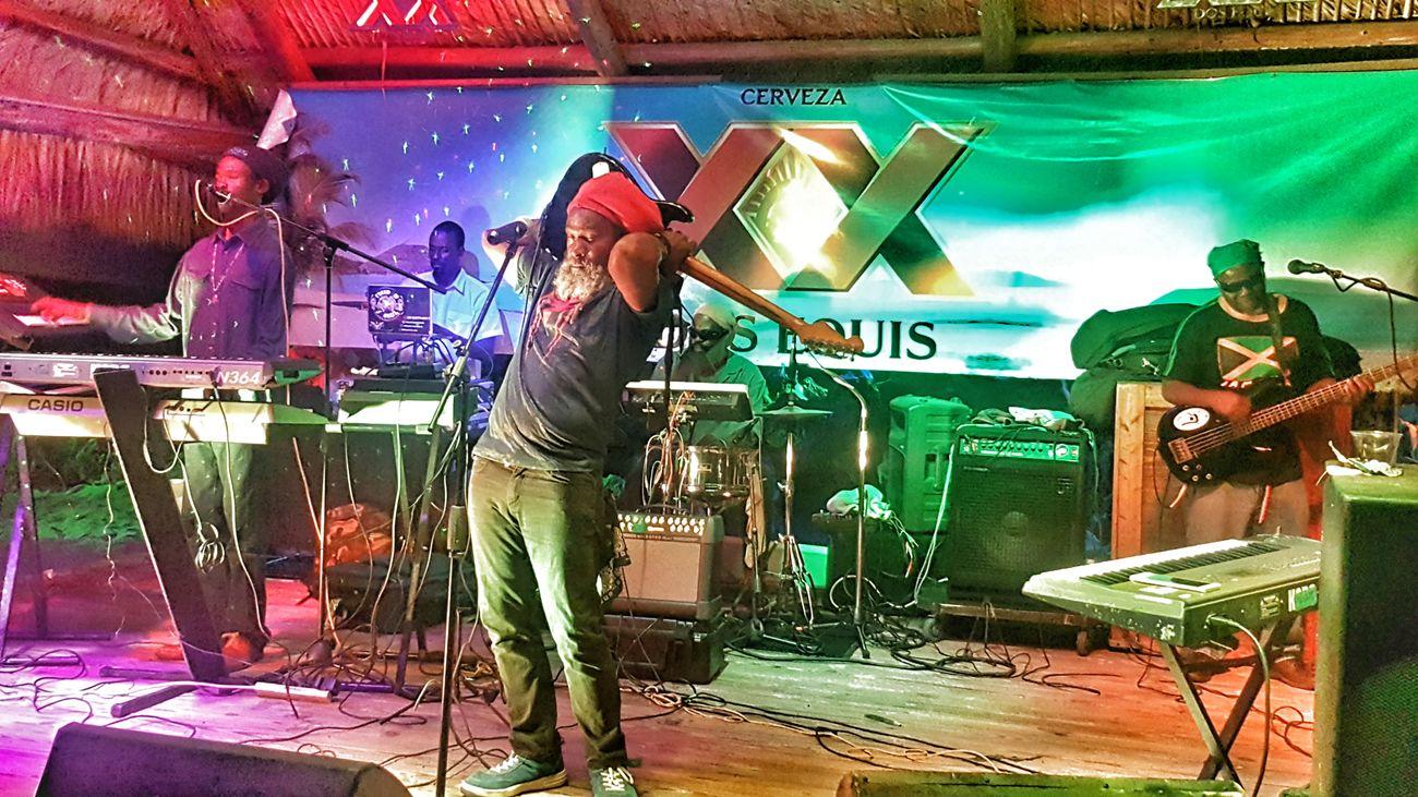 Good music ... Reggae Musician Jahfari Live Music GoodTimes