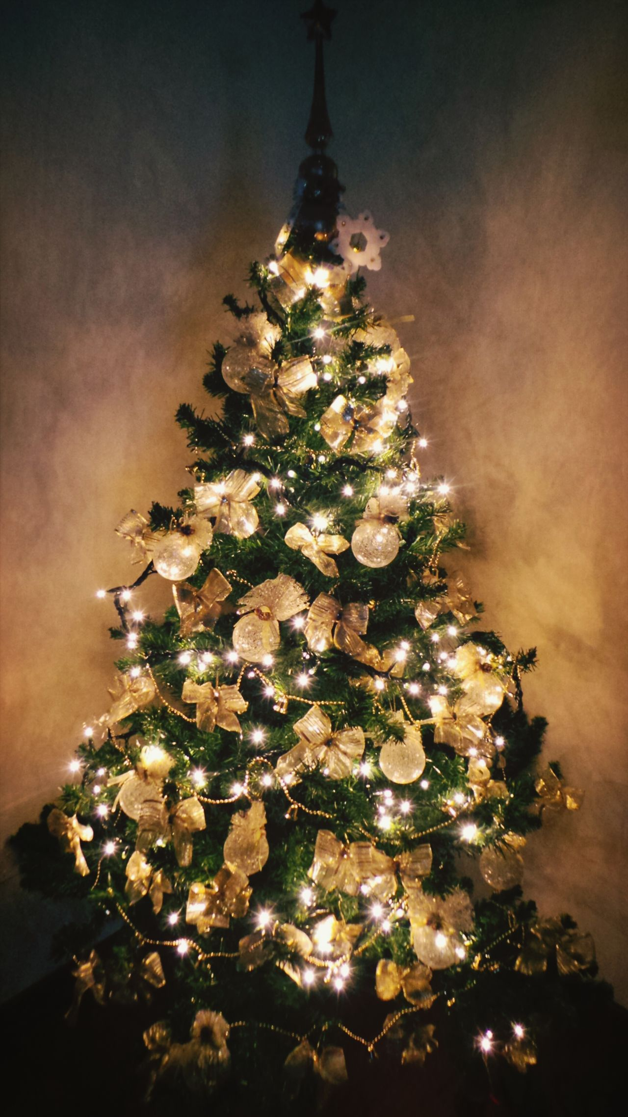 Christmas Tree Christmas Lights Albero Di Natale Christmas 43 Golden Moments