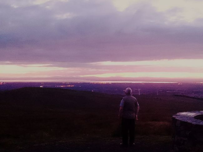 Enjoying The Sights On A Hike Nice Views Ireland🍀 Northern Ireland Sunset Silhouettes
