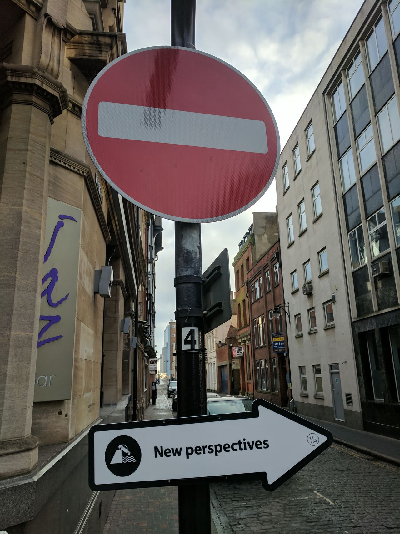 Street sign during Hull 2017 City Of Culture celebrations Architecture Building Exterior Built Structure City Communication Day Hull Hull 2017 Hull City Of Culture 2017 Hull2017 No People Outdoors Road Sign Sky Text