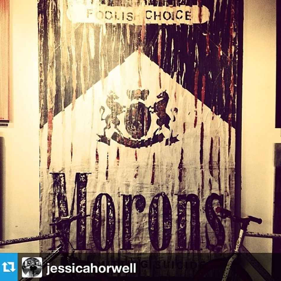 MORONS. ? Foolishpeople Foolishchoice Smoke Morons art urban black&white lostvalue LA regram pic app Repost from @jessicahorwell with @repostapp