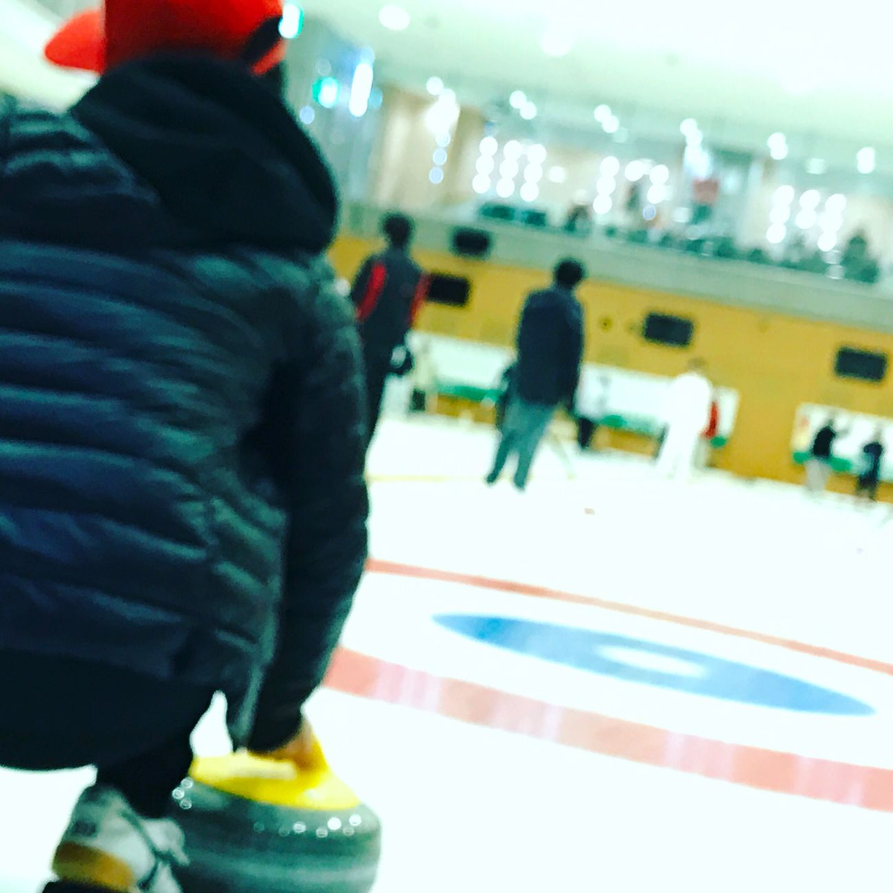 Curling Sport Leisure Activity Target Shooting Ice Rink Day