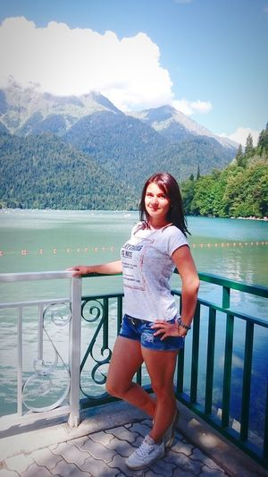 озероРица First Eyeem Photo отдых Абхазия странадуши абхазия