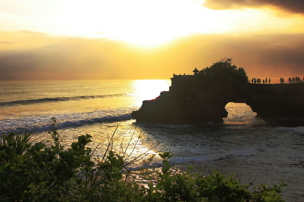 Sunset Reflection Travel Destinations Nature Sea Outdoors Water Landscape Beauty In Nature Scenics Sun Sky No People Bali Bali, Indonesia Tanah Lot Travel Traveling Travel Photography Nature Wave Beauty In Nature Myplanet Beach Myplanetisbeautiful