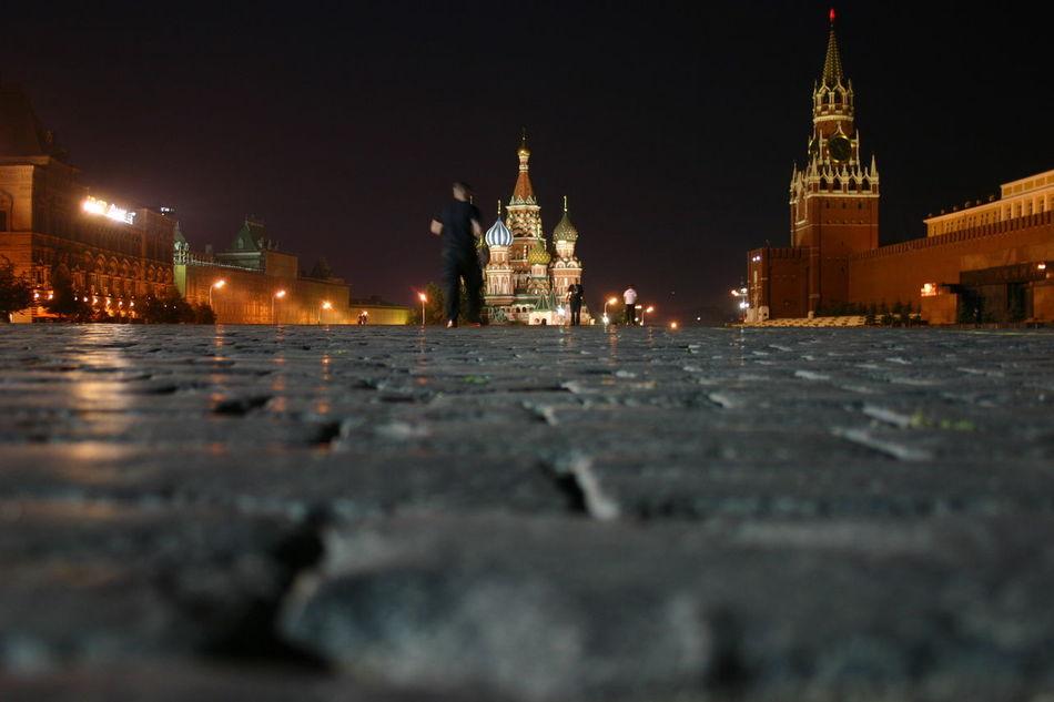2008 Architecture City Cityscape Illuminated Moskau Nacht Night Nightphotography Outdoors Roter Platz Russia