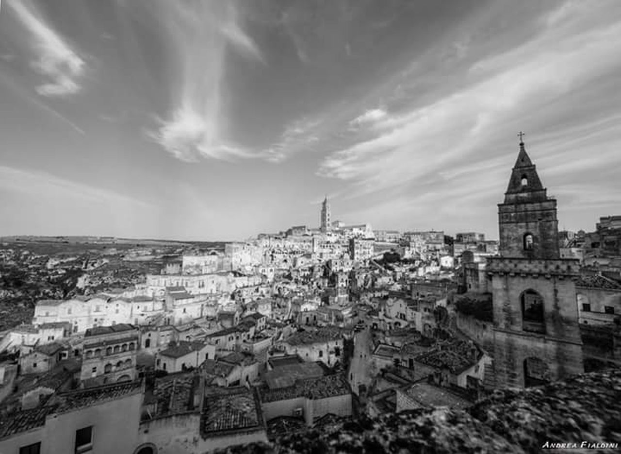 Astronomical Clock Urban Skyline History Building Exterior Built Structure Cultures Architecture City Cityscape Travel Destinations Travel No People Italy Tranquility Relaxing Landscape Italy❤️ Tranquil Scene Scenics Streetphotography Sculture Matera - Capitale Della Cultura Matera, Italy Matera Street Photography Matera View