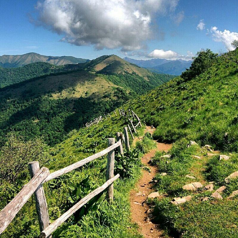 Monte Palanzone Mountain View dal Montebolettone