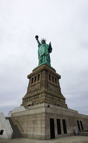 Statue Of Liberty Moment Lens IPhoneography New York Wide Angle Being A Tourist