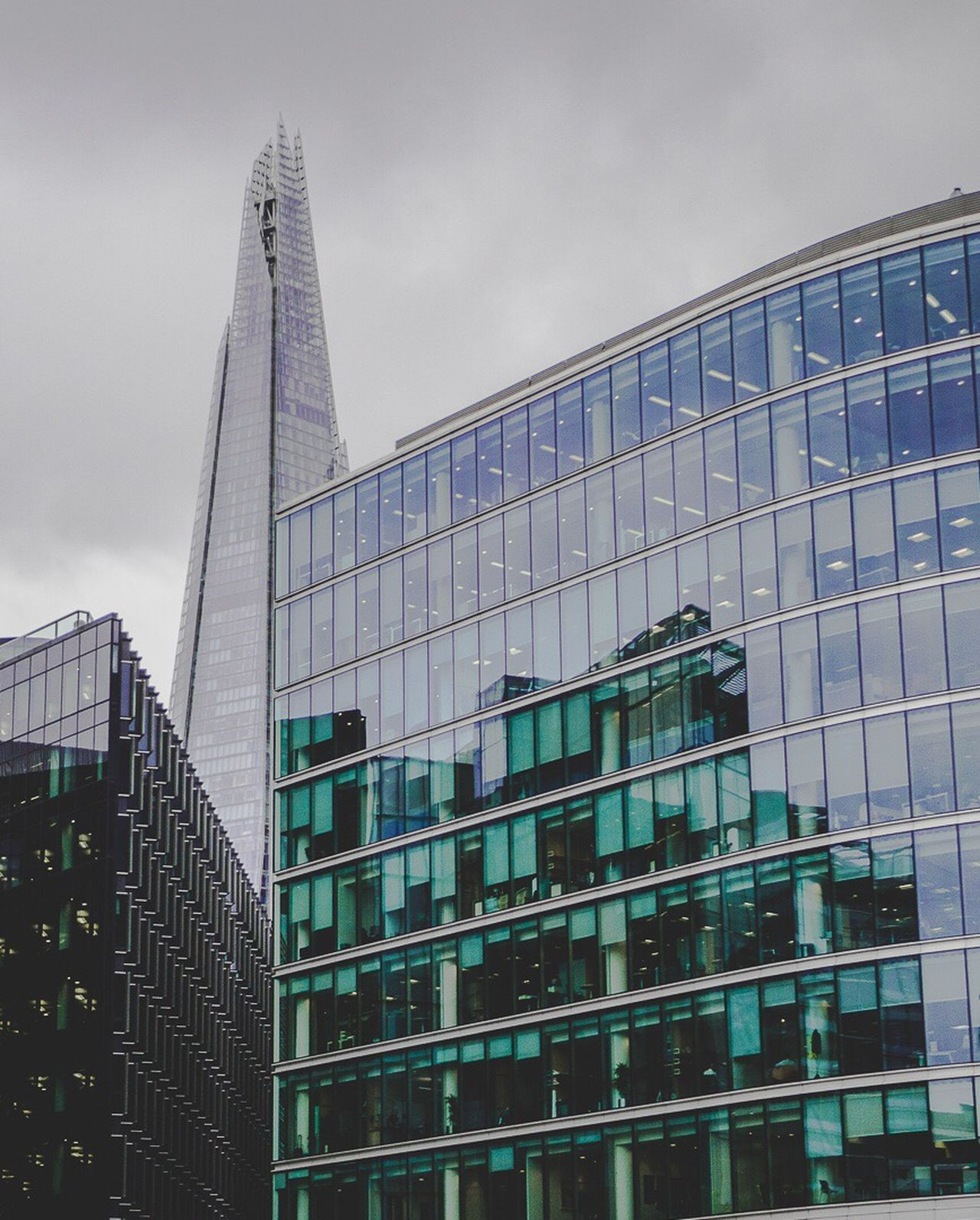 Architecture Modern Built Structure Skyscraper No People City London
