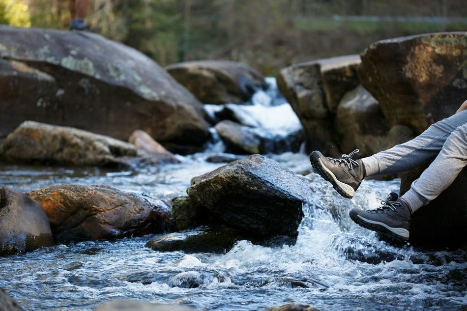 Beautiful stock photos of legs, Day, Flowing Water, Human Leg, One Person