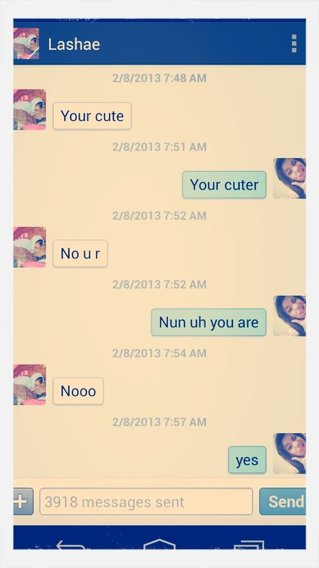 """Those """"your Cuter Arguments"""" Ilove My Baby<3"""