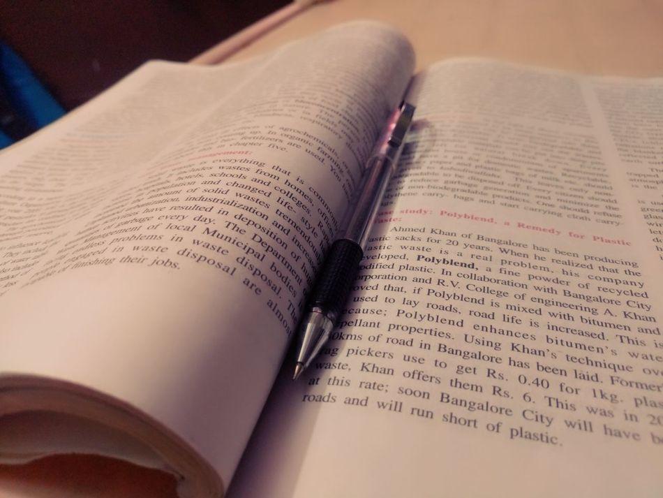 TextBook Close-up No People Indoors  Pen No Filter