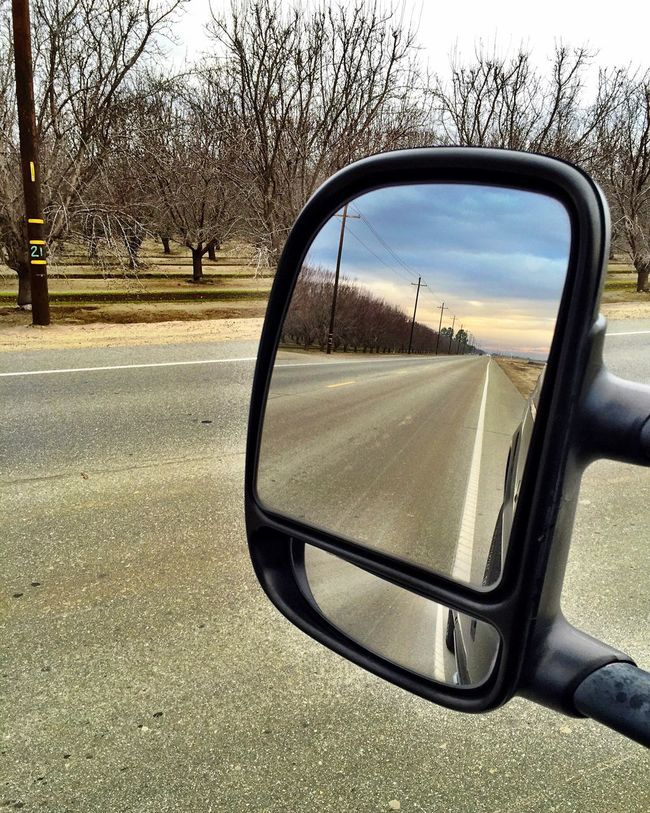 """""""Left It Behind"""" Rural road in Kern County, California left behind in my rearview mirror. Rearview Rearview Mirror Rearviewmirror Rural Scenes Rural America Rural Road Rural Exploration"""