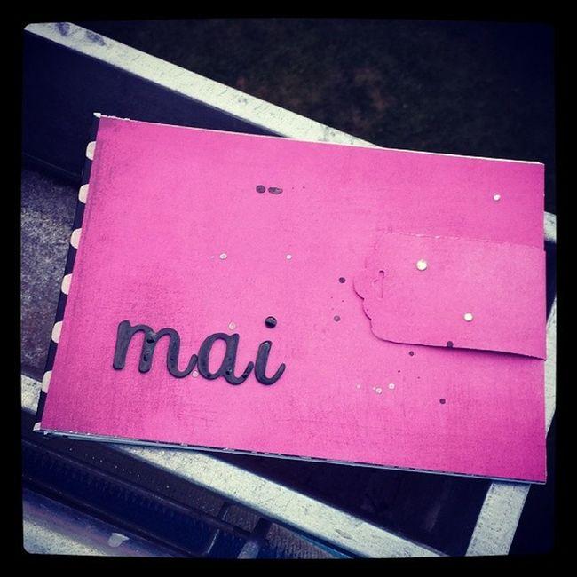 Minialbum Basicgrey Highline Thickers Washi washitape stampinup stanze tag pink schwarz weiß glitzer danipeuss monatskit scrapbooking handmade spring2014 april @danipeuss @stampinup