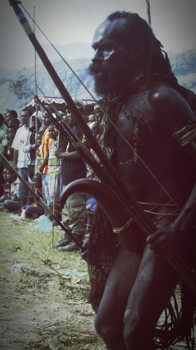 Local People Indonesian Papuan Papuabarat INDONESIA Cultural Heritage Cultures