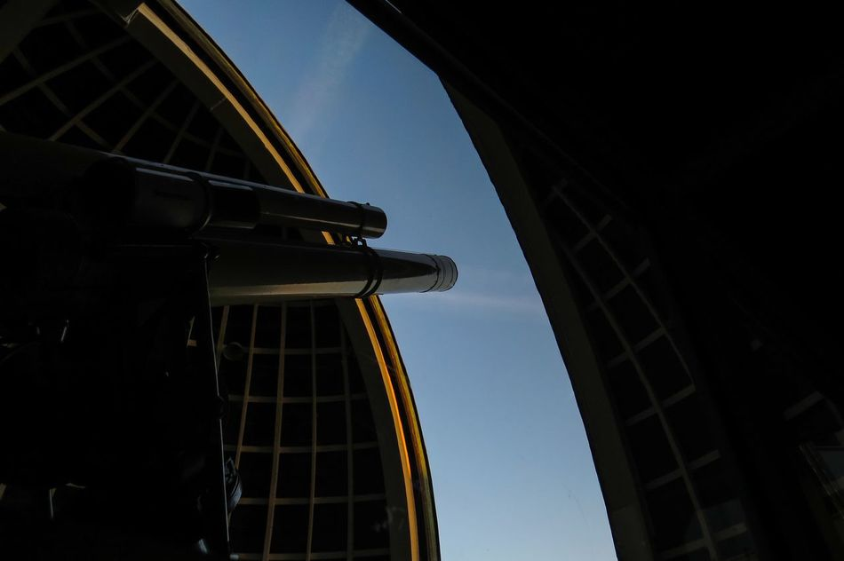 Architecture Clear Sky Built Structure Telescope Observatory
