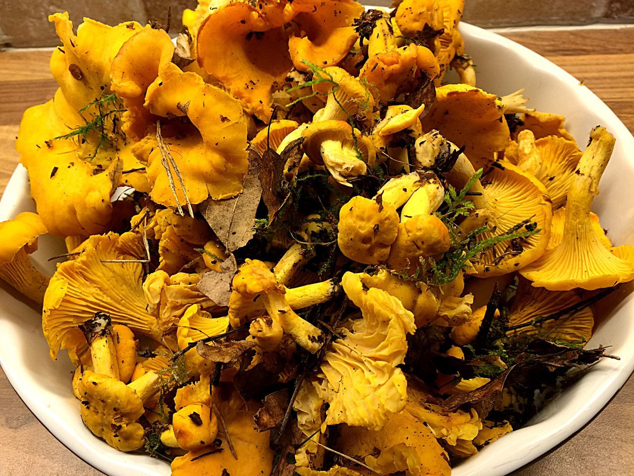 Chanterelles Chanterelle Forestwalk Muchrooms Delicious Yellow Taking Photos Sweden Showcase August Lovely Day IPhoneography Iphonephotography Outside Outside Photography