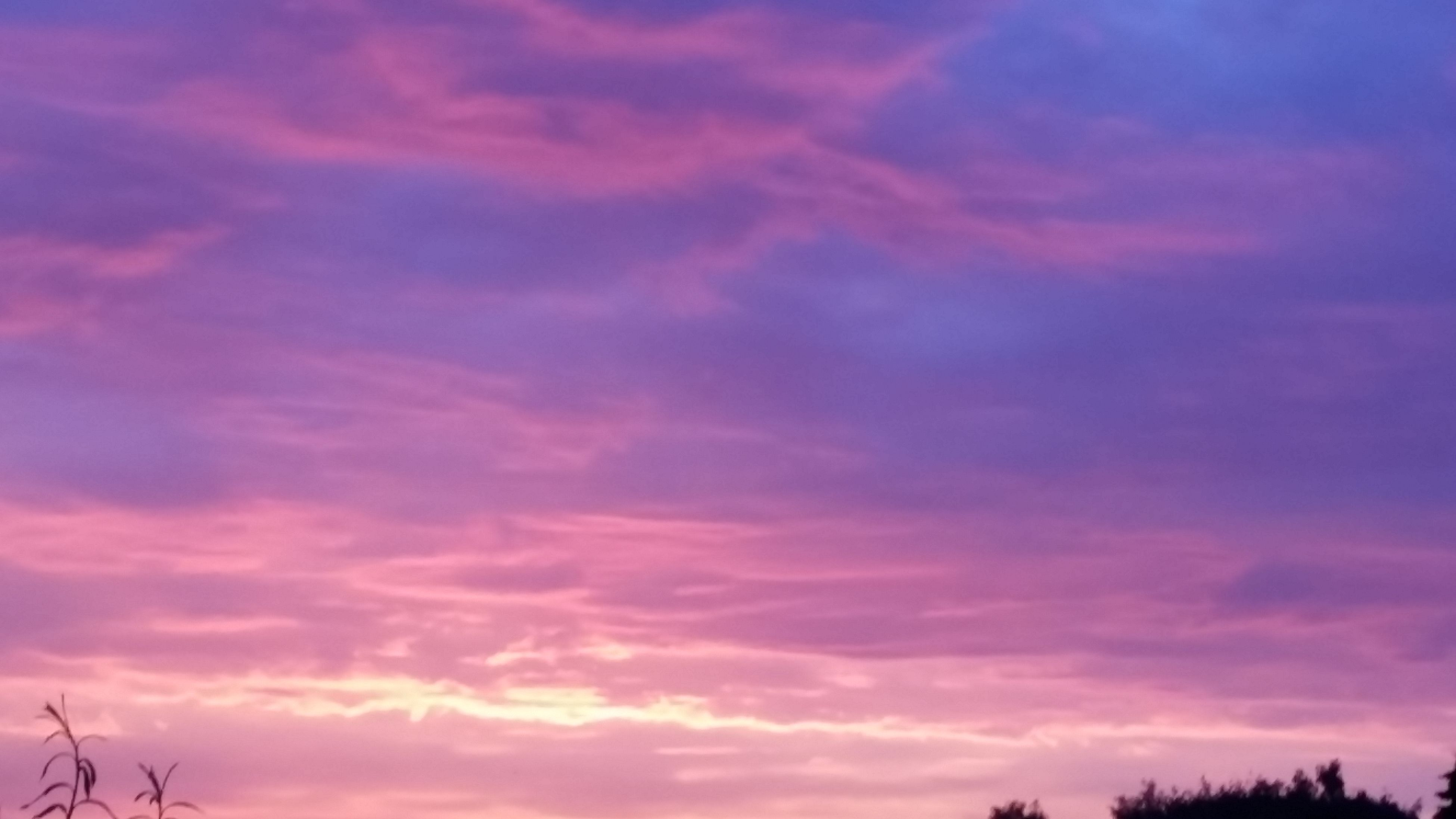 sky, sunset, low angle view, cloud - sky, beauty in nature, tranquility, scenics, silhouette, tranquil scene, nature, cloudy, cloud, tree, dramatic sky, orange color, idyllic, outdoors, no people, cloudscape, dusk