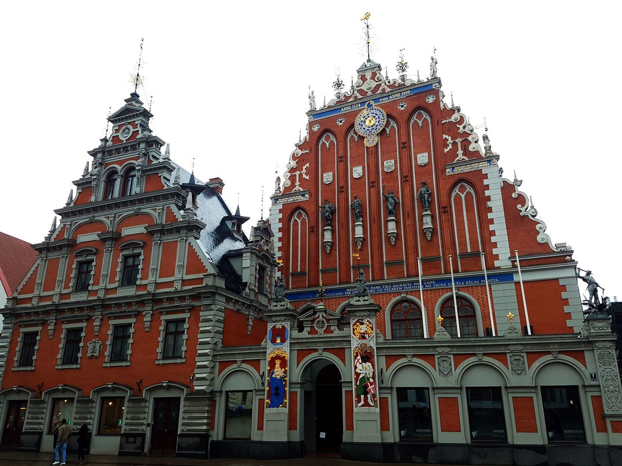 The House of Blackheads in Riga Architecture Building History House Of Blackheads Latvia Merchant Red Brick Riga