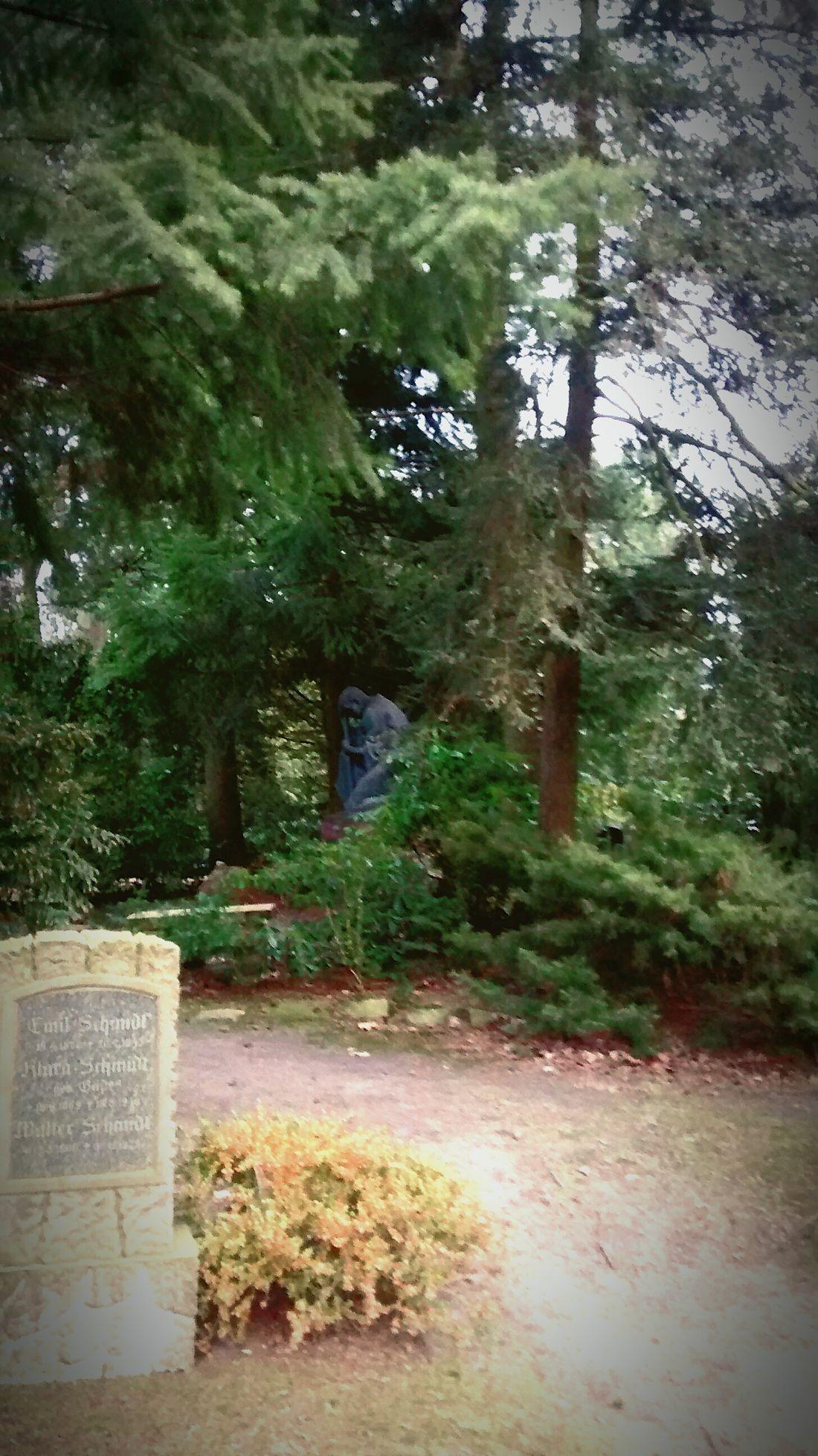 Cimetary Cimetiere Friedhof Ruhig Penseur Nachdenklich