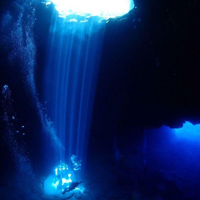 Spotlight Saipan Scubadiving Pinhole 사이판 Divey2k 송정학강사 Underwater