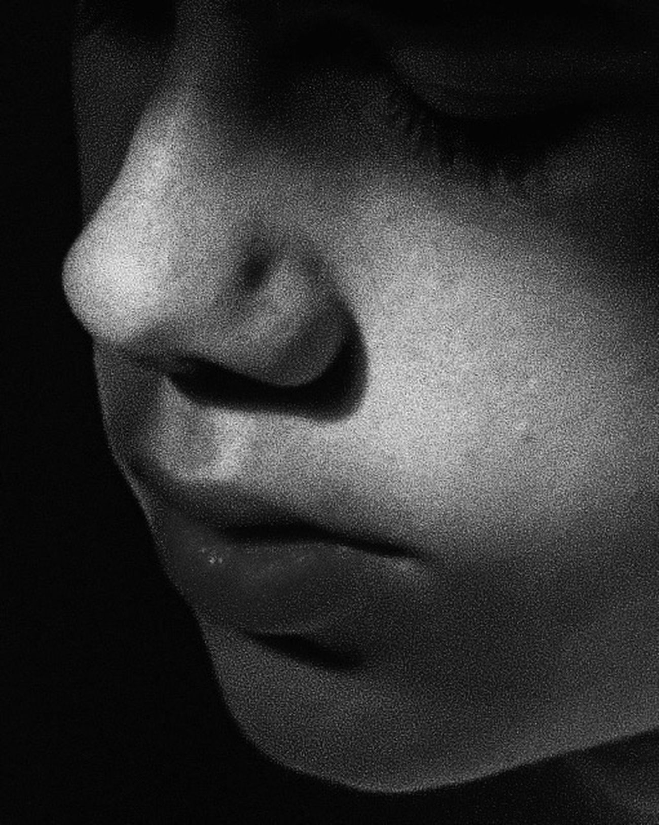 Retour de flamme. Human Lips Young Adult Close-up Indoors  Deep Thoughts Thinking Black And White