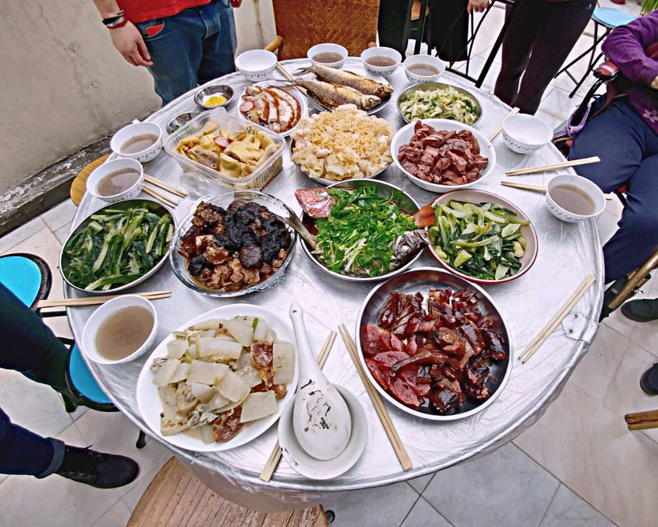 Cny CNY2017 Hong Kong Food Chinese New Year Chinese Food Chinese Culture Saiwan Street Food City Chinese Food Outdoors Adults Only Freshness Adult People Ready-to-eat Day Soup Tradition Family Relatives Cousins  Grandma